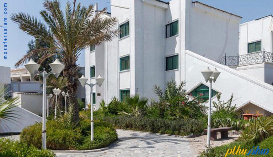 فضای سبز هتل تماشا کیش
