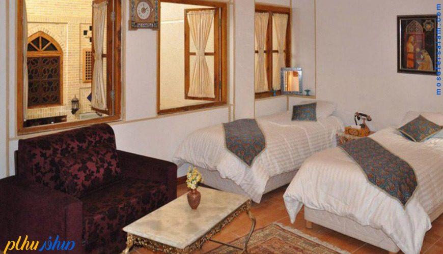 اتاق هتل طلوع خورشید اصفهان