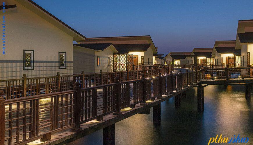 سوییت های روی آب هتل ترنج کیش