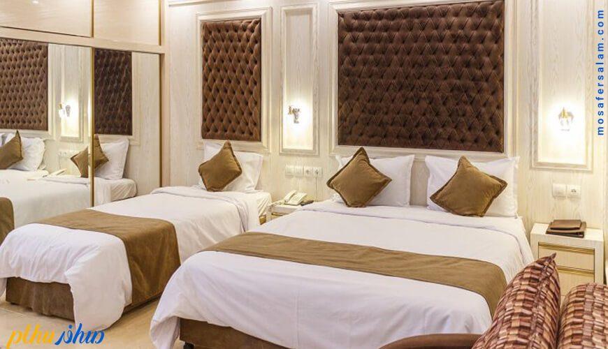 اتاق هتل ونوس اصفهان