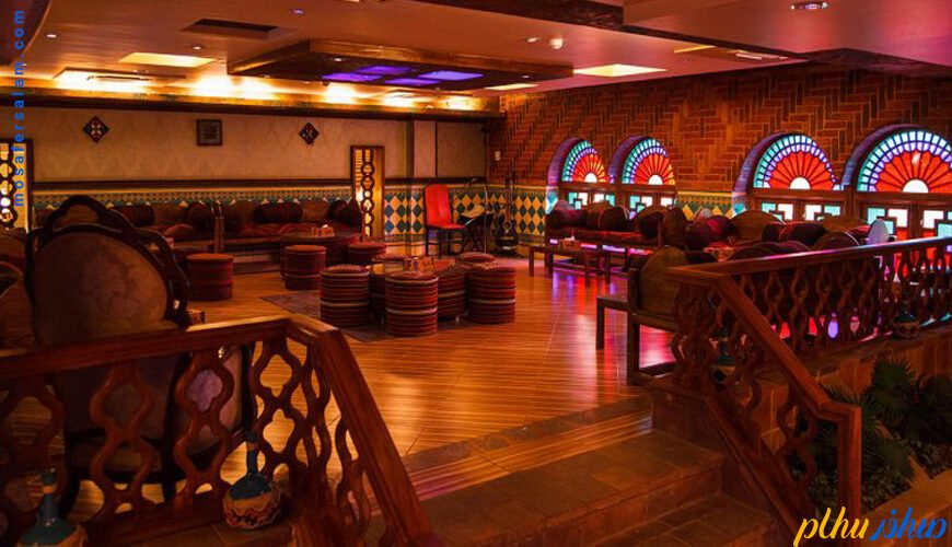 کافه سنتی هتل کریم خان زند شیراز