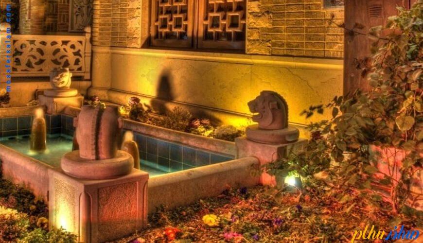 فضای باز هتل کریم خان زند شیراز
