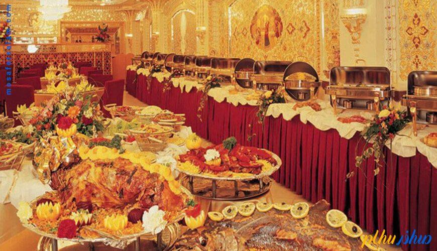 غذا در هتل زهره اصفهان