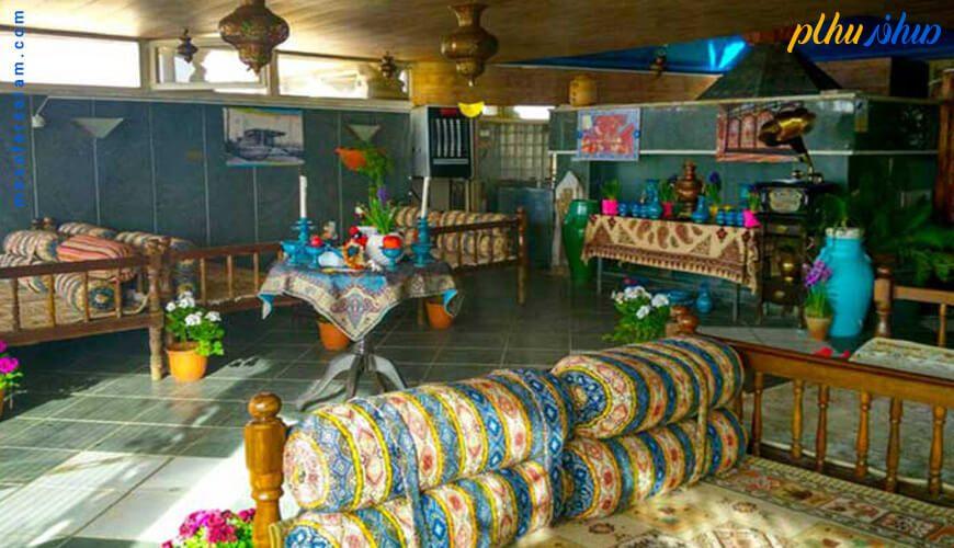 فضای سنتی هتل زهره اصفهان