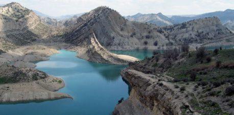 سد دریاچه  ایلام