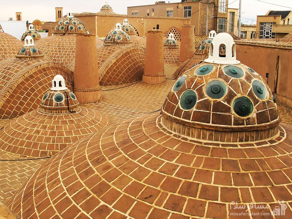 پشت بام گرمابه احمد سلطان