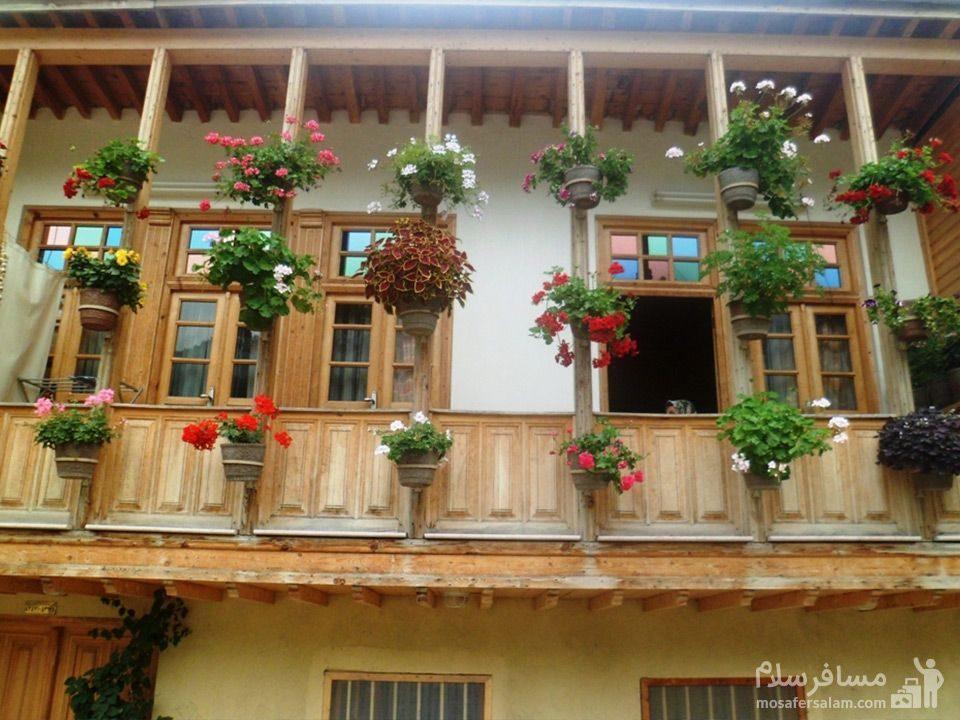 خانه های زیبای ماسوله