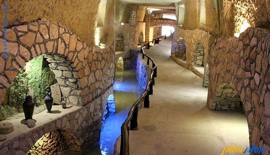 شهر زیر زمینی کاریز کیش