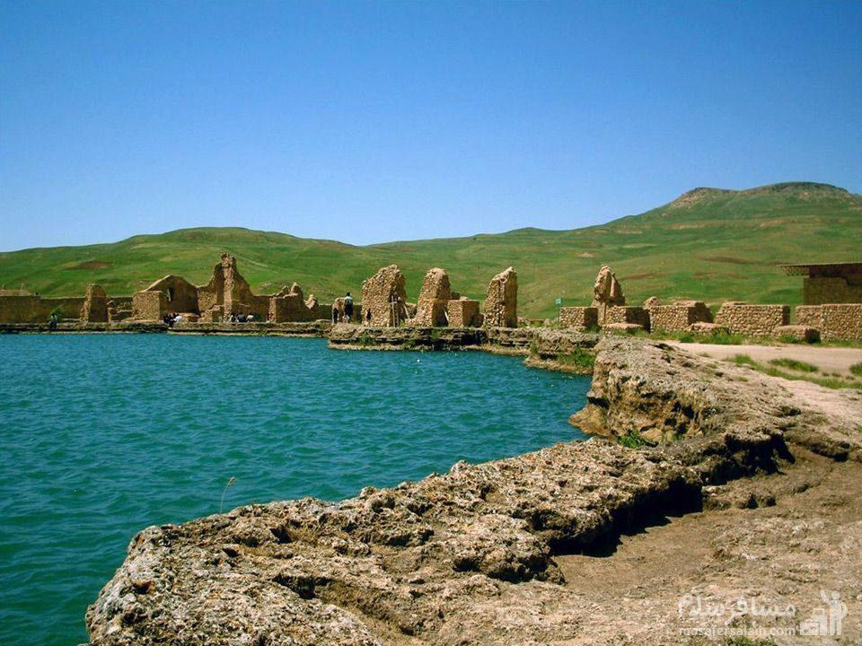 تخت سلیمان (آتشکده آذرگشنسب)