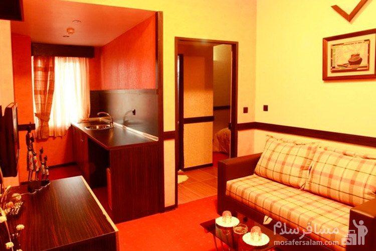 اتاق یکخوابه هتل آپادانا مشهد