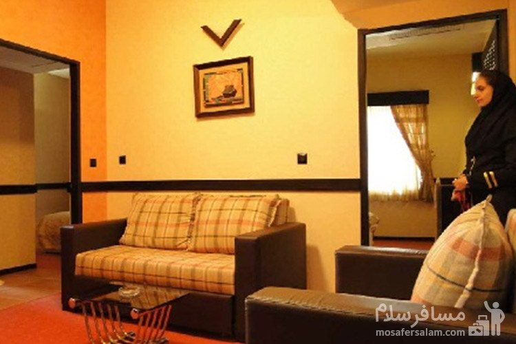 اتاقهای هتل آپادانا مشهد