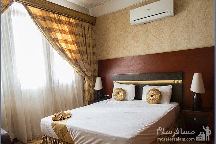 اتاق دوتخته هتل عماد مشهد
