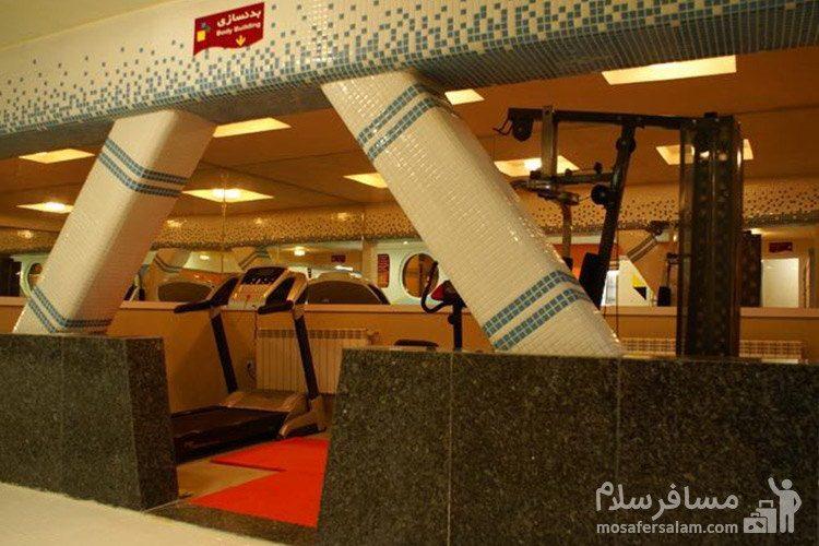 سالن بدنسازی هتل عماد مشهد