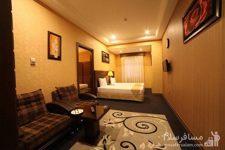 اتاق یکخوابه هتل توحید نوین مشهد