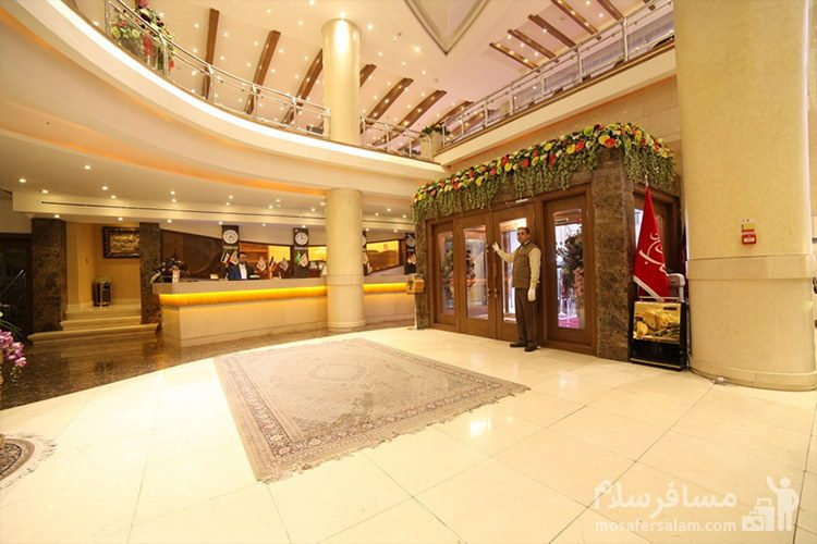 لابی و پذیرش هتل توحید نوین مشهد