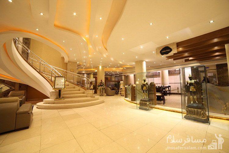 لابی هتل توحید نوین مشهد