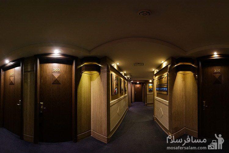 راهرو هتل توحید نوین مشهد