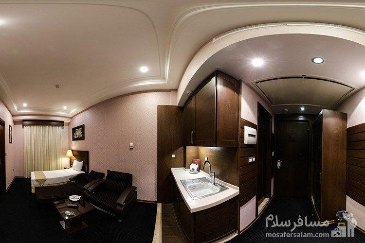سوئیت هتل توحید نوین مشهد