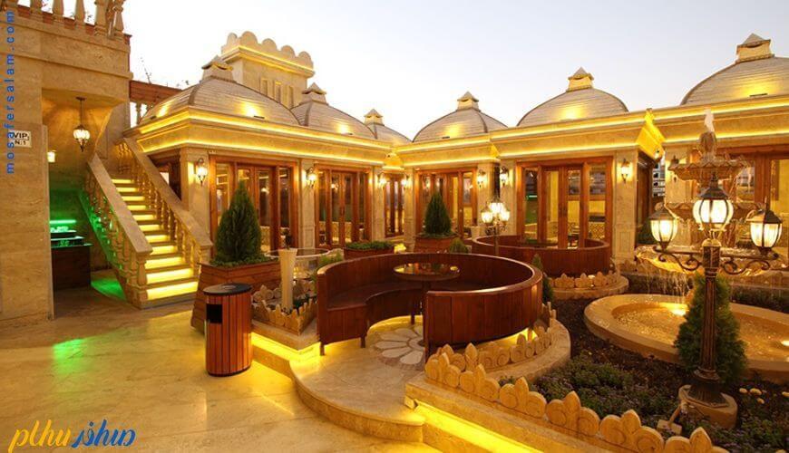 کافه بام هتل توحید نوین مشهد