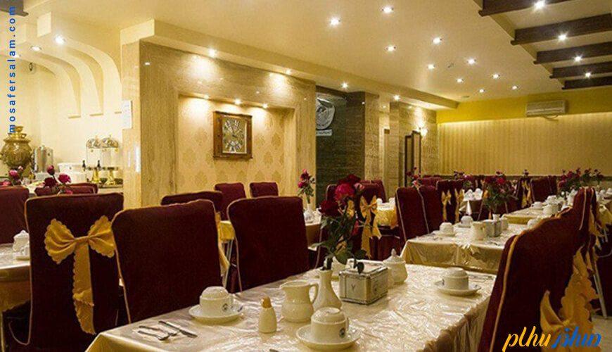 رستوران هتل توحید نوین مشهد