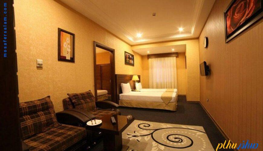 اتاق هتل توحید نوین مشهد