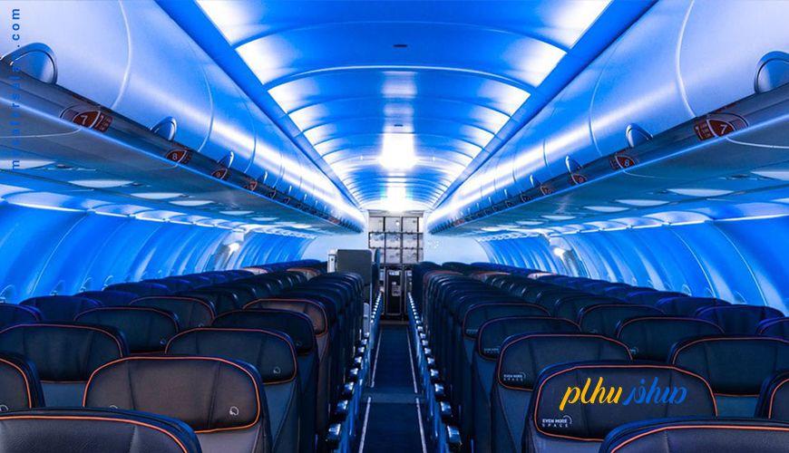دلیل کم کردن نور کابین در هنگام بلند شدن هواپیما
