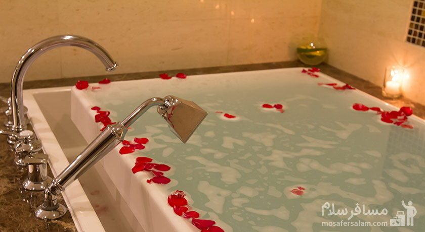 وان حمام هتل پارسیان آزادی تهران