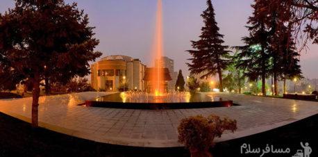 هتل پارسیان آزادی تهران محوطه