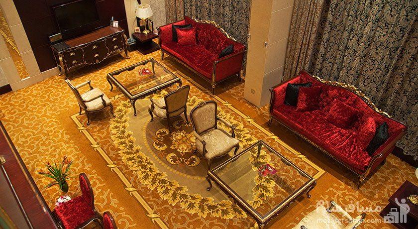 هتل آزادی تهران لابی