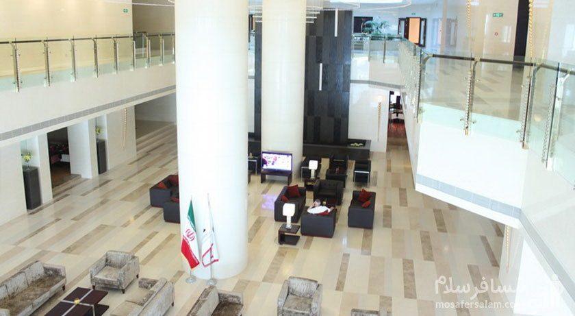 هتل پارسیان آزادی تهران ورودی