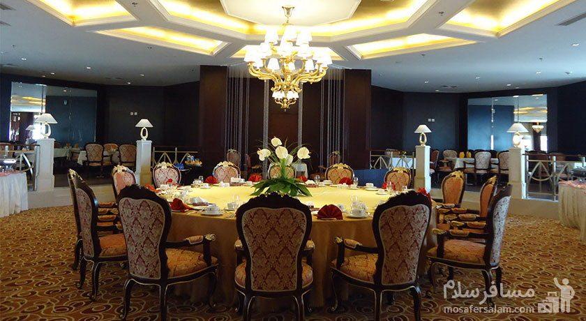هتل پارسیان آزادی تهران تالار عروسی