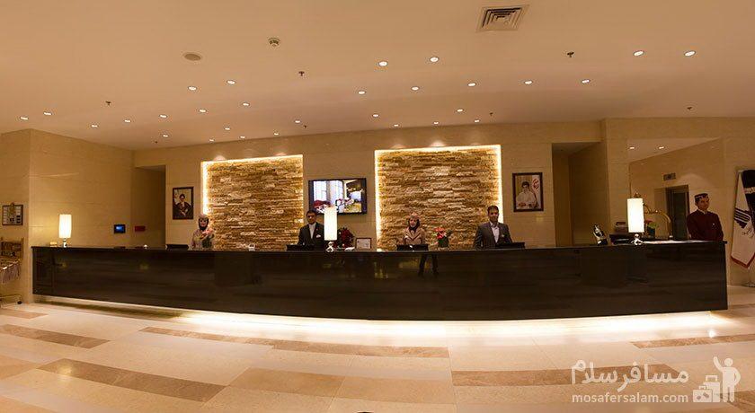 هتل پارسیان آزادی تهران پذیرش