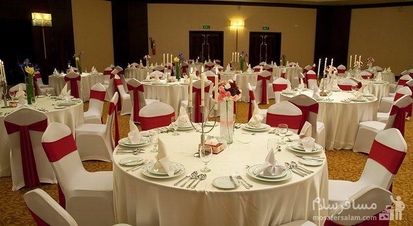 سالن عروسی هتل آزادی تهران