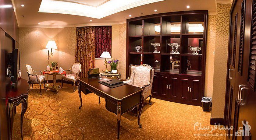 هتل پارسیان آزادی تهران پرزیدنتال روم