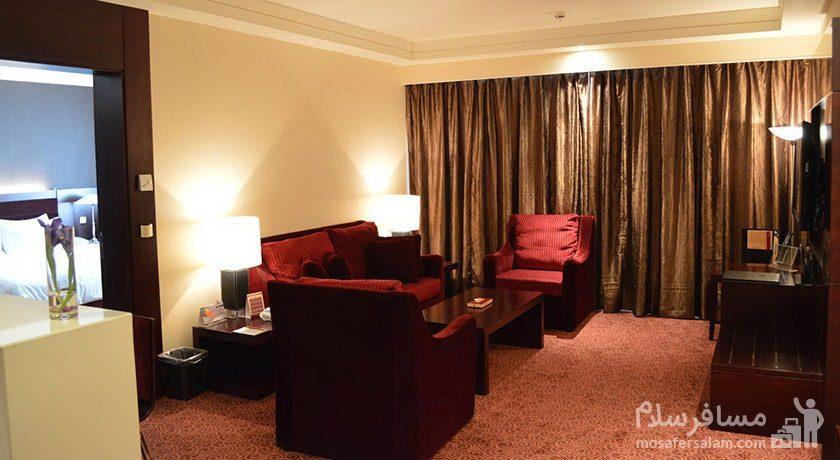 هتل پارسیان آزادی تهران رویال روم