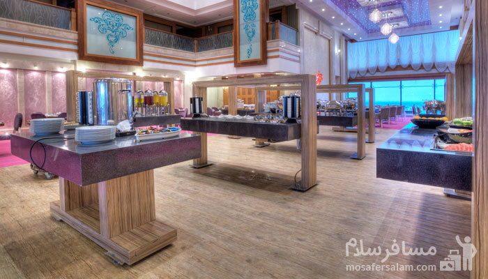 بوفه صبحانه هتل درویشی مشهد