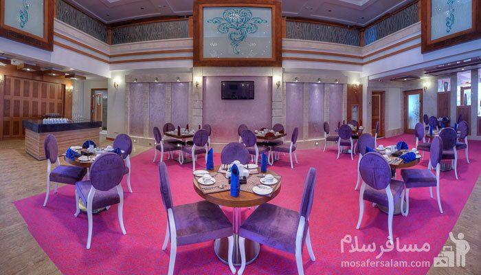 سالن ارغوان هتل درویشی