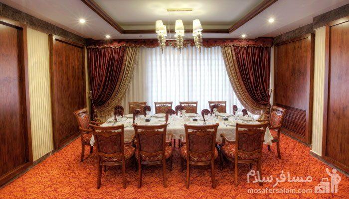 رستوران آتریوم هتل درویشی