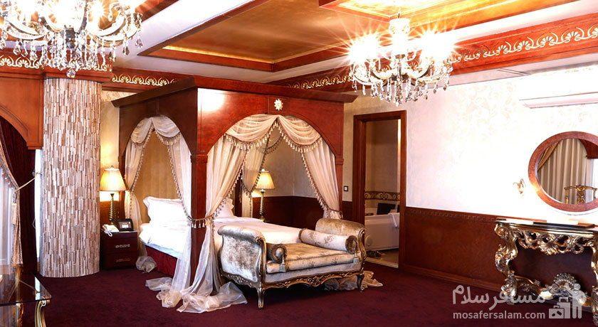 اتاق یونان هتل مجلل درویشی