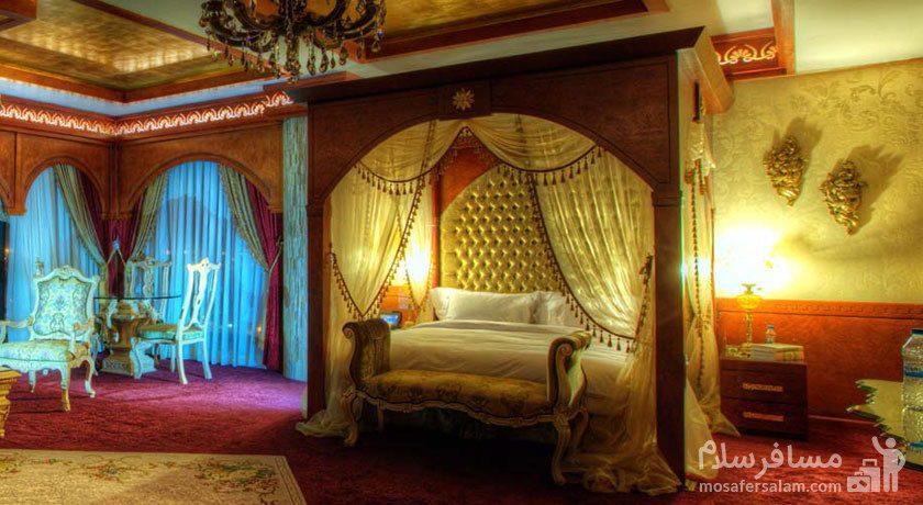 اتاق عرب هتل درویشی مشهد