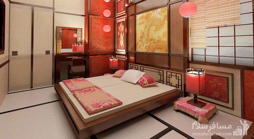 اتاق چین هتل مجلل درویشی مشهد