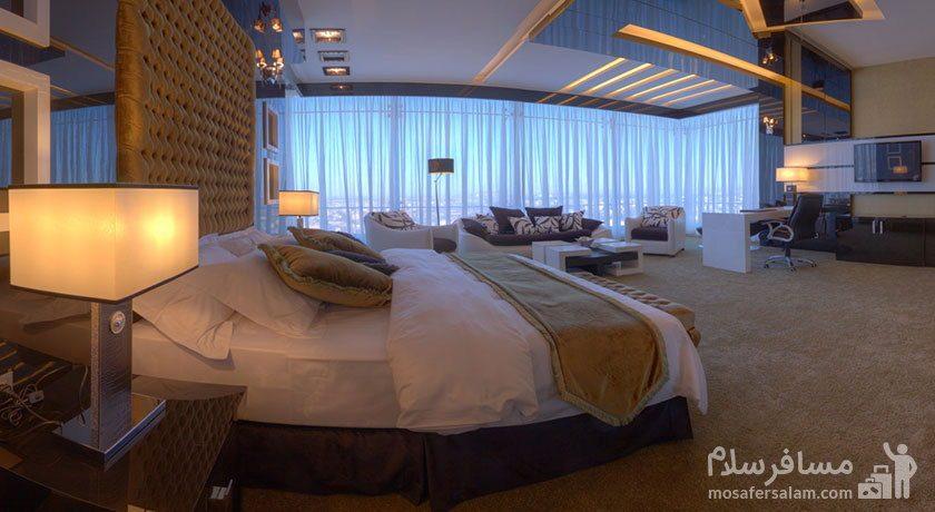 دوبلکس پرزیدنتال هتل مجلل درویشی