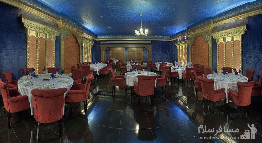 رستوران فیروزه هتل درویشی