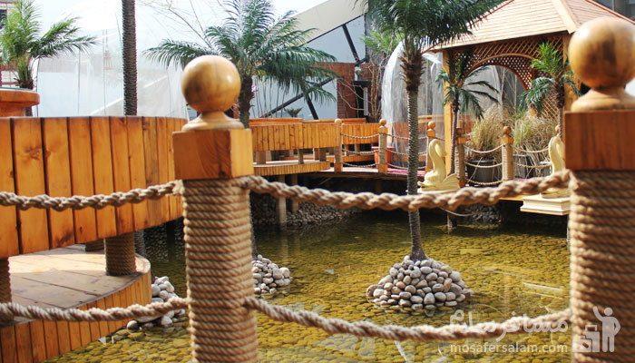 چایخانه سنتی هتل درویشی