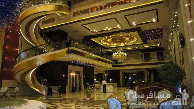 نمای لابی هتل درویشی