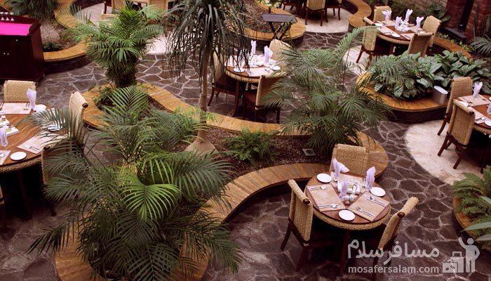 رستوران های هتل درویشی مشهد