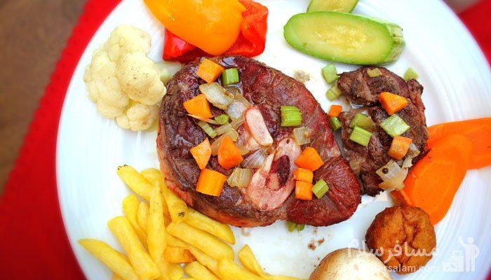 غذای هتل درویشی مشهد