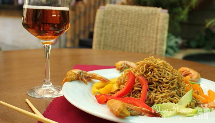 غذای ایتالیایی هتل درویشی