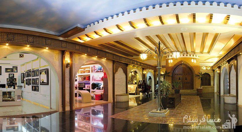 مرکز خرید هتل درویشی مشهد