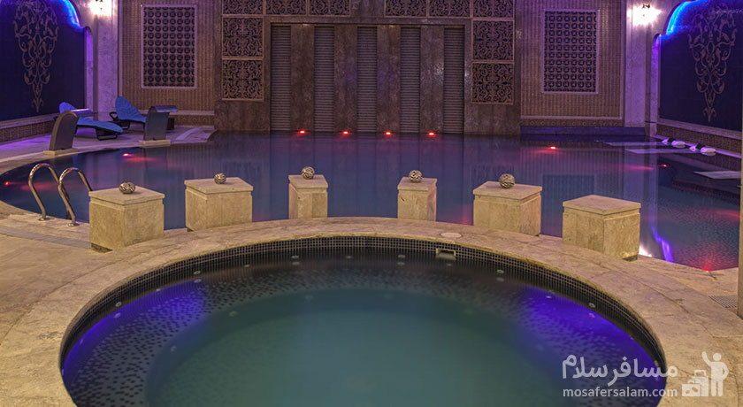 استخر هتل درویشی مشهد